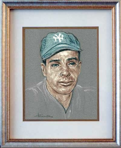 Joe DiMaggio by originaldo